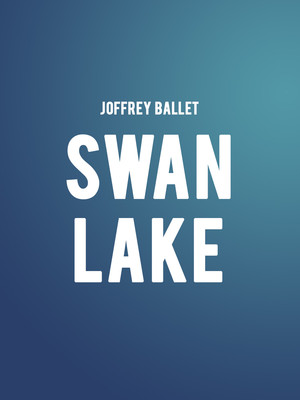 Joffrey Ballet Swan Lake, Auditorium Theatre, Chicago