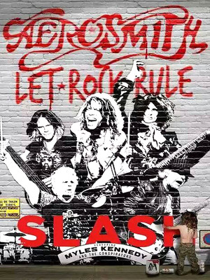 Aerosmith & Slash at Prudential Center