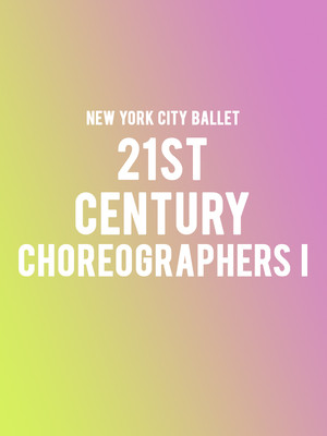 New York City Ballet - 21st Century Choreographers I at David H Koch Theater