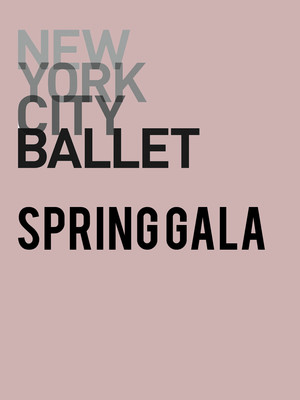 New York City Ballet: Spring Gala Poster