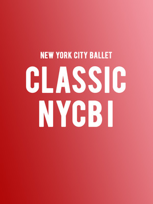 New York City Ballet - Classic NYCB I Poster