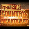 Country Megaticket, Shoreline Amphitheatre, San Francisco