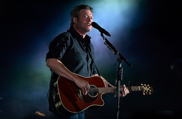 Blake Shelton, Golden 1 Center, Sacramento