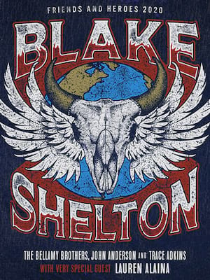 Blake Shelton at Golden 1 Center
