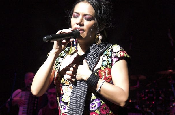 Lila Downs, Walt Disney Concert Hall, Los Angeles