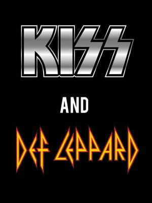 Kiss & Def Leppard Poster