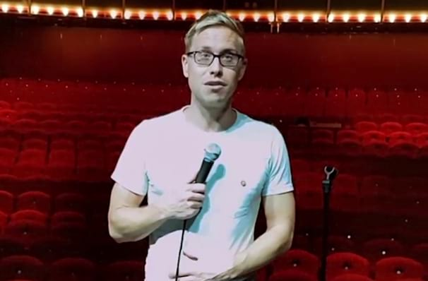 Russell Howard, Varsity Theater, Minneapolis