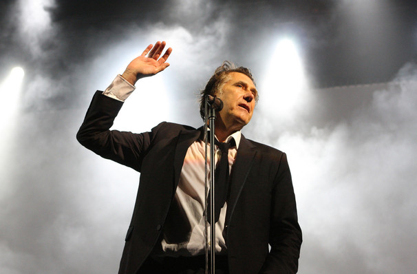 Bryan Ferry, Burton Cummings Theatre, Winnipeg