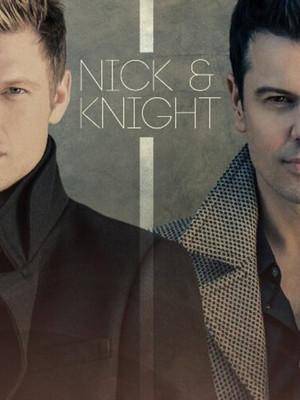 Nick Carter & Jordan Knight at Best Buy Theater