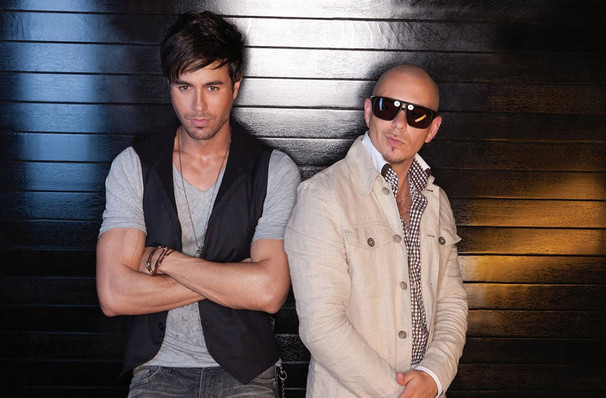 Enrique Iglesias & Pitbull's whistlestop visit to Miami