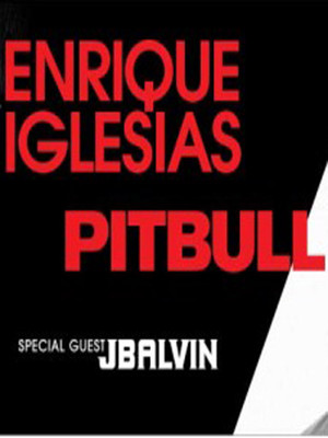 Enrique Iglesias & Pitbull at Oracle Arena