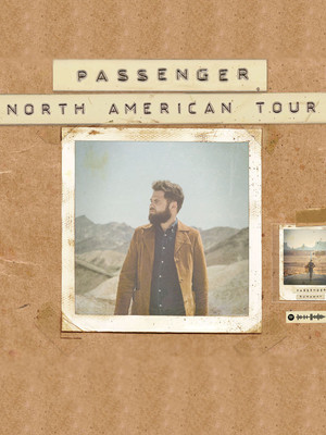 Passenger, Burton Cummings Theatre, Winnipeg