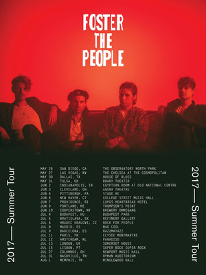 Foster the People at Iroquois Amphitheater