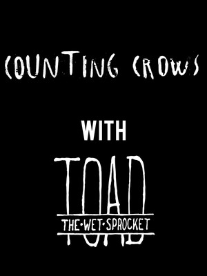 Counting Crows & Toad The Wet Sprocket Poster