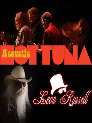 Hot Tuna & Leon Russell at NYCB Theatre at Westbury