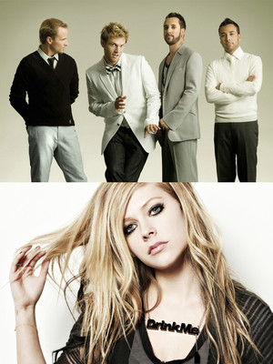 Backstreet Boys & Avril Lavigne Poster
