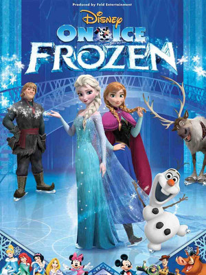 Disney On Ice Frozen, Long Beach Arena, Los Angeles