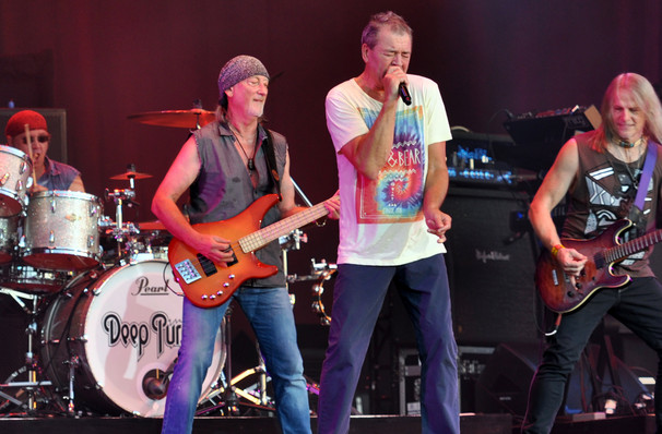 Deep Purple, Revention Music Center, Houston