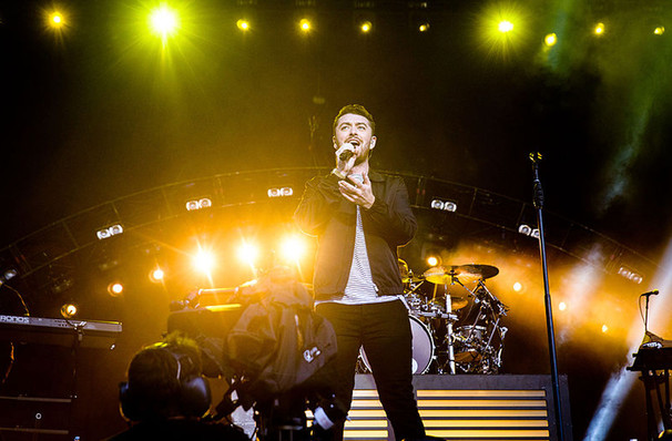 Sam Smith, Oracle Arena, San Francisco