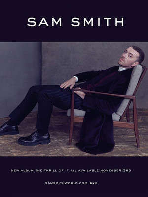 Sam Smith, Scotiabank Saddledome, Calgary