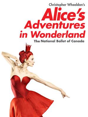 Alice's Adventures in Wonderland - Ballet Poster