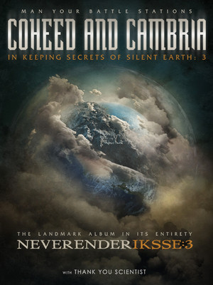 Coheed and Cambria & Thank You Scientist Poster