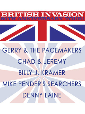 British Invasion 50th Anniversary Tour Poster