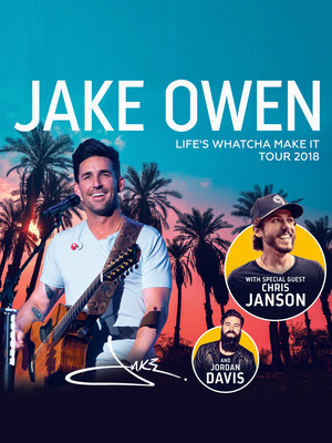 Jake Owen, Meyer Theatre, Green Bay