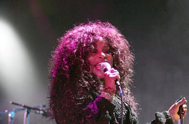 Just one chance to see Chaka Khan