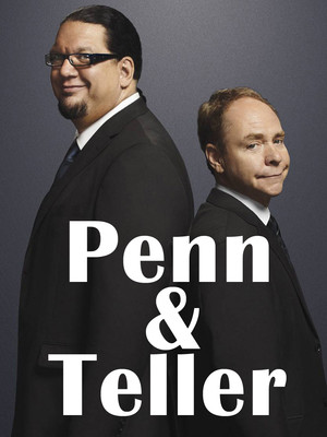 Penn & Teller at The Chicago Theatre