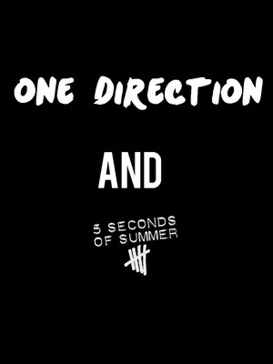 One Direction & 5 Seconds of Summer Poster