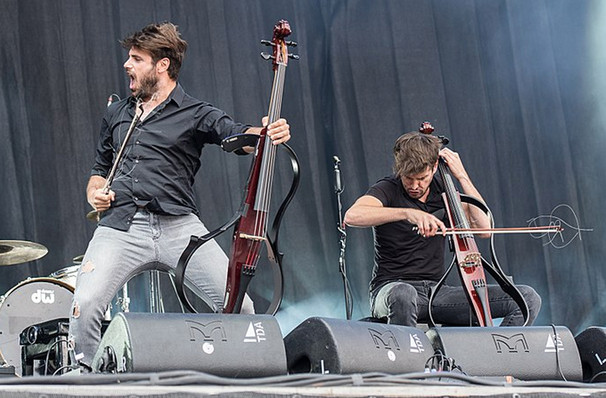 2Cellos, Count De Hoernle Amphitheater, Fort Lauderdale
