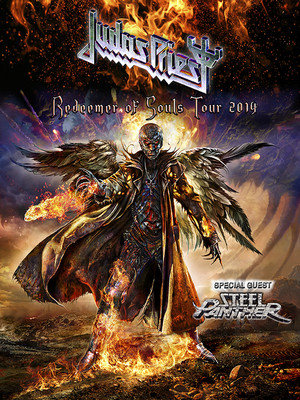 Judas Priest & Steel Panther Poster