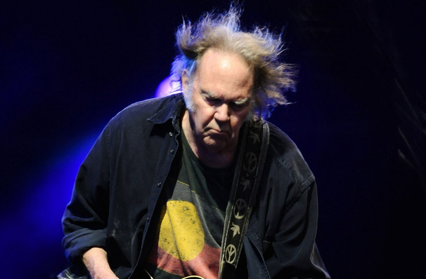 Neil Young, Burton Cummings Theatre, Winnipeg