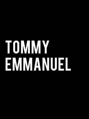 Tommy Emmanuel at Bergen Performing Arts Center