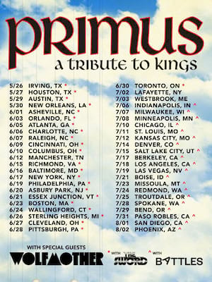 Primus, Crossroads, Kansas City