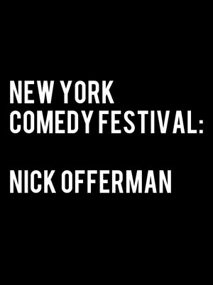 New York Comedy Festival: Nick Offerman at Beacon Theater