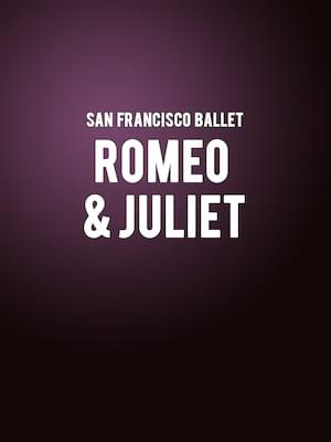 San Francisco Ballet: Romeo And Juliet Poster