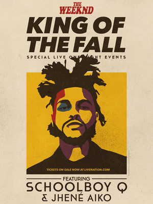 The Weeknd, Schoolboy Q & Jhene Aiko Poster