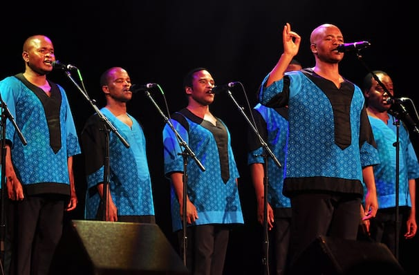Ladysmith Black Mambazo, Indiana University Auditorium, Bloomington