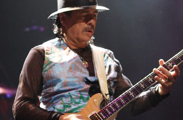 Santana, Xfinity Center, Boston