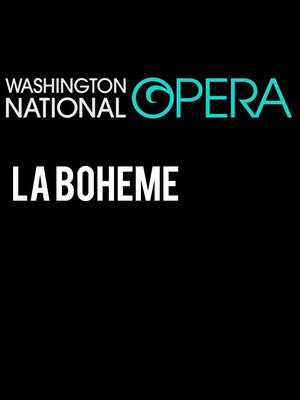Washington National Opera: La Boheme Poster