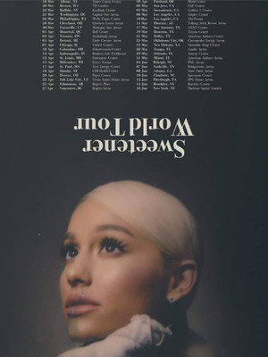 Ariana Grande, Golden 1 Center, Sacramento