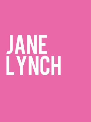 Jane Lynch Poster