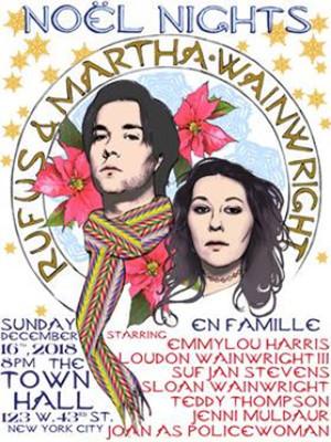 Rufus Wainwright & Martha Wainwright Poster