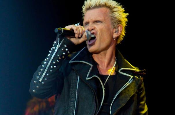 Billy Idol, Westjet Concert Stage at PNE Rogers Amphitheatre, Vancouver