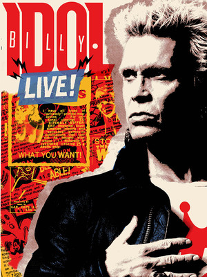 Billy Idol at Puyallup Fairgrounds