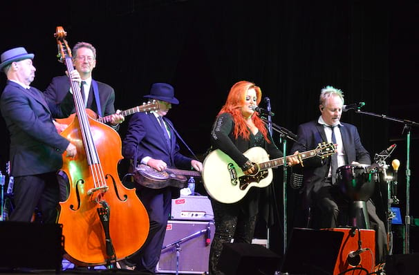Catch Wynonna Judd & The Big Noise it's not here long!