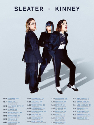 Sleater-Kinney at House of Blues
