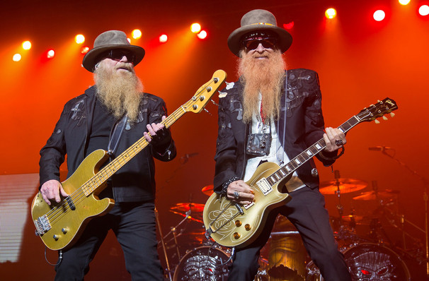 ZZ Top, Peace Concert Hall, Greenville